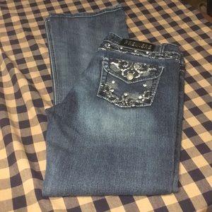 Premiere jeans-sz. 9/10 R -Slim boot cut